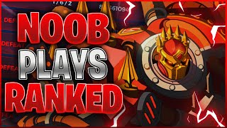 Paladins Noob Plays Ranked For The First Time