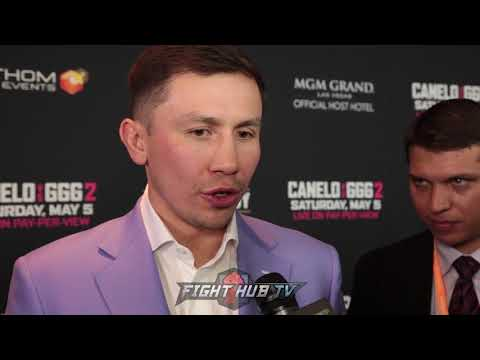 "GENNADY GOLOVKIN ""I'LL BRING THIS (BODY SHOTS) ON MAY 5TH, I'LL SHOW YOU!"""