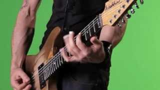 Michael Sweet Shows Off His New Washburn PXV-MS2FRK