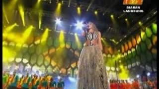 Shakira - Waka Waka - Live - Fifa Worldcup 2010 Concert