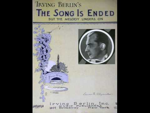 whispering Jack Smith - The Song Is Ended (but The Melody Lingers On) (1928) video