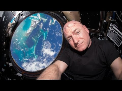 NASA astronaut Scott Kelly on his year in space