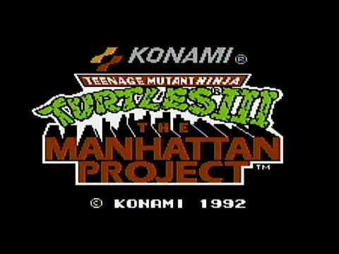 Teenage Mutant Ninja Turtles III - NES Gameplay