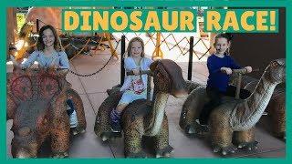 Kids Visit Pangaea Land of the Dinosaurs