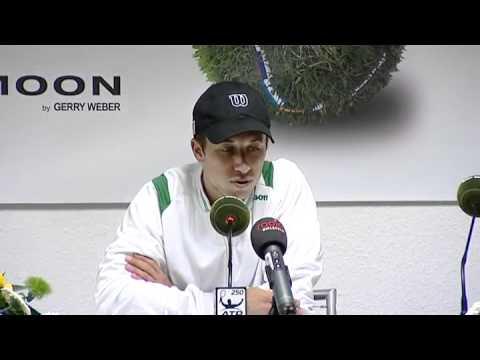 Gerry Weber Open 2012 - Halbfinale - Pressekonferenz - Philipp Kohlschreiber