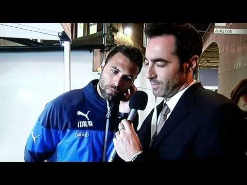 ITALIA-IRLANDA - Intervista Salvatore Sirigu a Rai Sport - SSFP