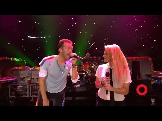 Coldplay amp Shakira A Sky Full of Stars  Live at Global Citizen Festival Hamburg