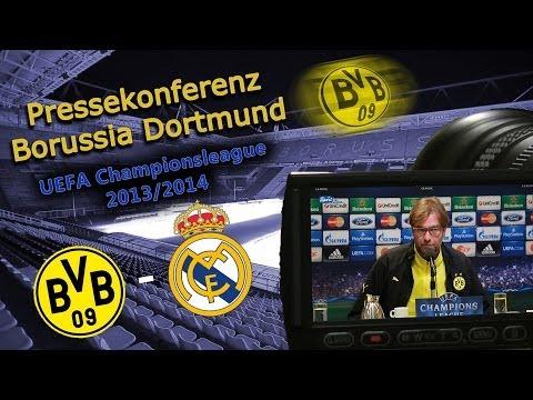 UEFA Championsleague-Viertelfinale : Borussia Dortmund - Real Madrid 2:0 : Pk Jürgen Klopp
