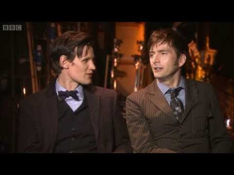 Matt Smith e David Tennant - Por trás das cenas - Especial de 50 anos [LEGENDADO]