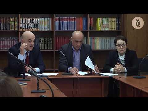 Обсуждение  законопроекта об образовании в РАУ