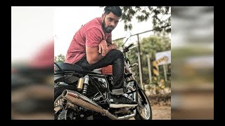 CRAZY LOUD EXHAUST on the Royal Enfield INTERCEPTOR 650