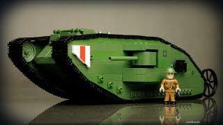 COBI Czołg Mark I (2972) - recenzja