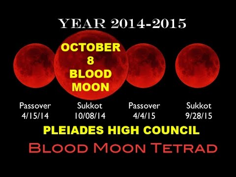 ~Anna Merkaba - BLOOD MOON OCTOBER 8 - TETRAD - PLEAIDES HIGH COUNCIL~