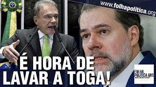 Senador Álvaro Dias manifesta revolta com o STF - 'golpe violento' contra a Lava Jato