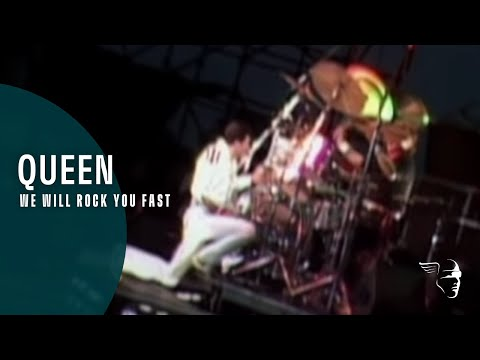 Queen - We Will Rock You Fast (On Fire, Live At The Bowl)