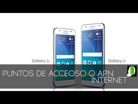 SAMSUNG GALAXY J7   Internet Tigo  Colombia O  Punto  De  Acesso   APN  HD