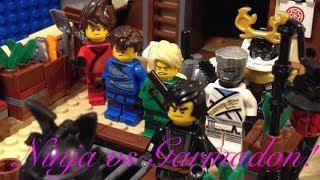 Lego Ninjago Season 10 Ninja vs Garmadon  Bounty fight Scene Recreation!