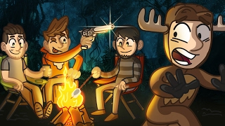 Camping Trip! | COD: Gun Game | Call of Duty Funny Moments