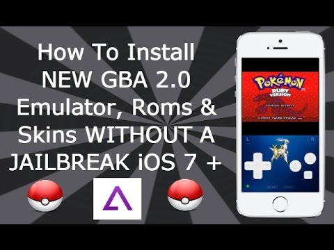 Install GBA 2.0.7 Emulator & Games WITHOUT A JAILBREAK iOS 7 / 8