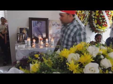 Velatorio de Noel Rodriguez cruelmente asesinado de un disparo para robarle un motor
