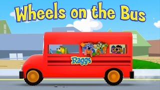 Wheels On The Bus | Wheels On The Bus Go Round and Round Nursery Rhyme For Babies | HD Version