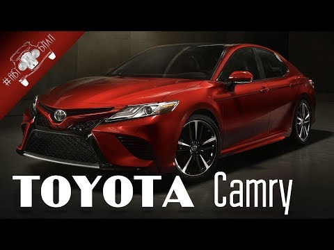 Новая Toyota Camry 2018 фото, цена