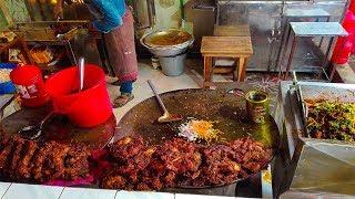 Amazing street food : chicken chap | $1 Street Food Around The World, BEST Street Food in Bangladesh