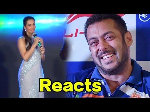Malaika Arora Khan Reacts On Salman Khan Receiving Backlash As An Olympics 2016 Goodwill Ambassador