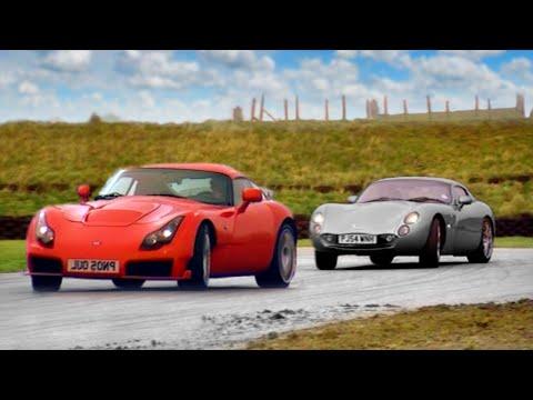 TVR Tuscan vs TVR Sagaris - Fifth Gear
