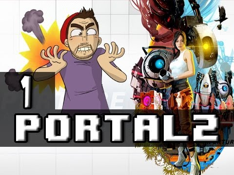 Portal 2 | Ep.1 | Lets do this, For Science!
