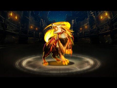 神魔之塔 — 洛基妲妃 2石通關 地獄級日狼『日月的撕咬者』