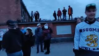Leijonien MM-kultaa juhlittiin Oulun Torinrannassa