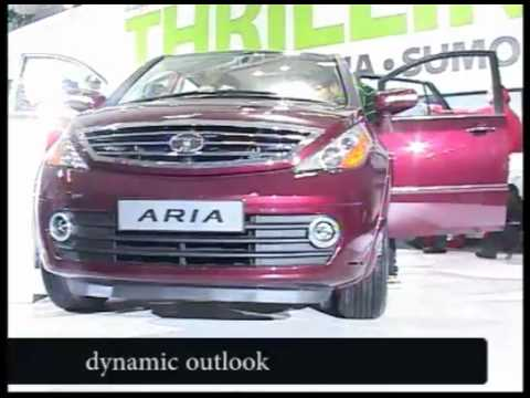 Explore TATA Aria @ 11th Auto Expo 2012 India (First look)