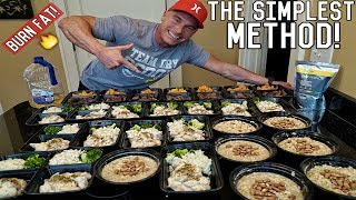 How To Meal Prep For The Entire Week | Bodybuilding Shredding Diet Meal Plan