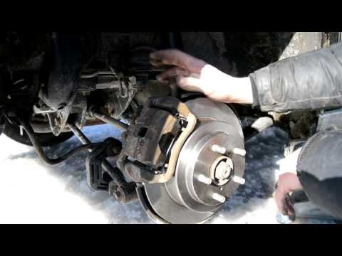How-To:  Change Rear Brakes Subaru Impreza