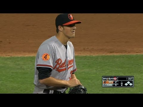 BAL@CWS: Gausman works a scoreless eighth in relief