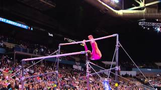 Katelyn Ohashi - Uneven Bars - 2013 AT&T American Cup