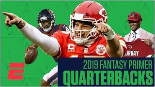 The best fantasy quarterbacks and sleepers for 2019 | Fantasy Football Primer