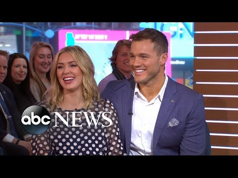 Colton and Cassie open up about their journey to love l GMA