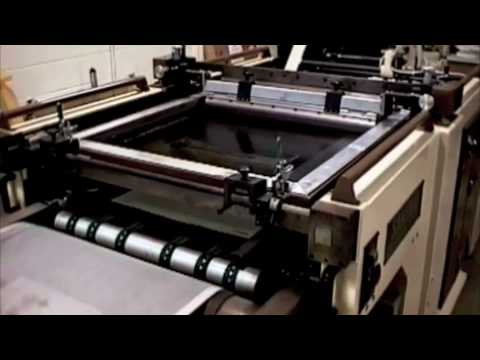 Sakurai Rotary Screen Printing Demonstration
