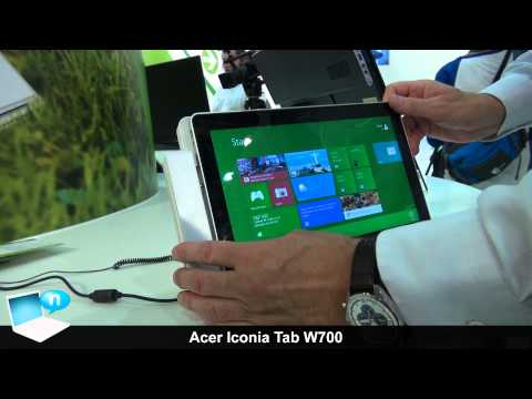 Acer Iconia Tab W700 tablet Windows 8 - Introduzione (ITA)
