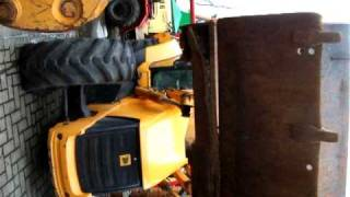 video JCB 3XC super  sitemaster v pohybe