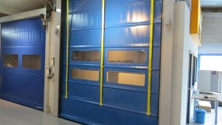 INKEMA Folding High-Speed Door - PRPG