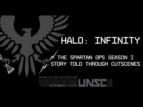 Halo: Infinity - Spartan Ops Season One - All Cutscene Movie