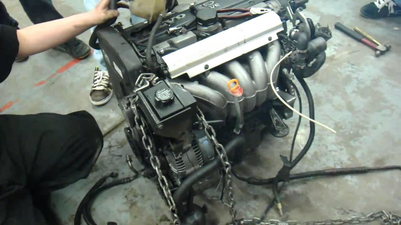 Turbo Volvo Engine Swap - YouTube