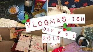 I'm Not Afraid Of A Christmas Cake! - VLOGMAS-ish - 8th & 9th December 2015