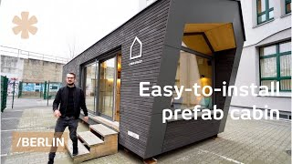 An easy-to-install prefab cabin as alternative to rental flats?