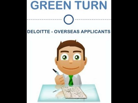 Deloitte International Applicant Guidance to Secure Trainee Internship