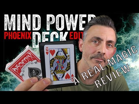 John Kennedy's Mind Power Deck and Mind Power Traveler by Card Shark