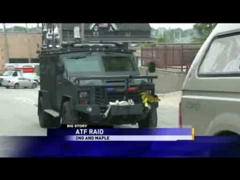 Outlaws motorcycle gang clubhouse raided in Milwaukee -- WITI.flv